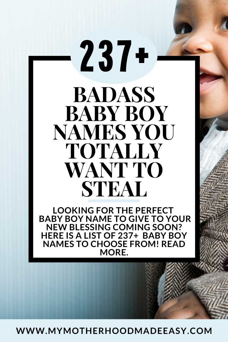 237 Baby Boy Names You Totally Want To Steal Baby Names